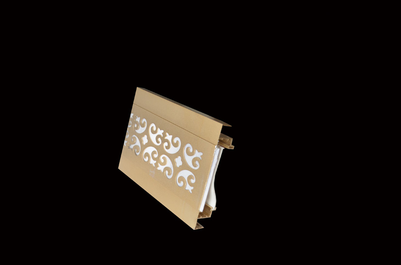 土豪金平面灯槽